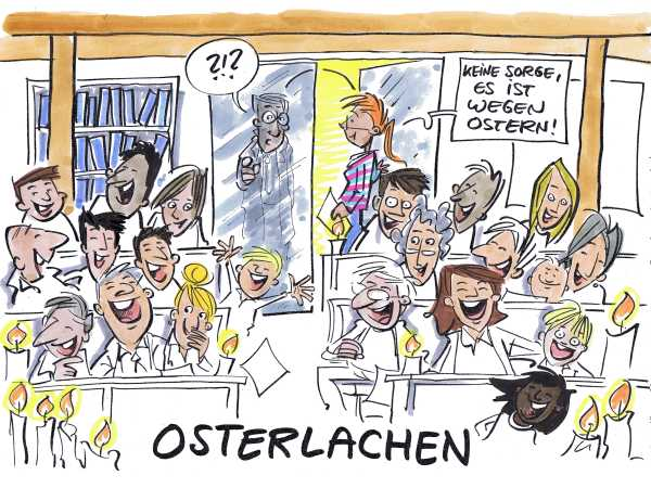 osterlachen-cartoon